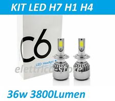 KIT LED MOTO COCHE MAZORCA C6 H1 H7 H4 H11 CHIP EPISTAR 7600LM 72W 6000K DIGITAL