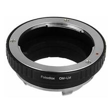 NEW FOTODIOX MOUNT ADAPTER FOR OLYMPUS OM LENS TO LEICA M-SERIES CAMERA