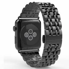 Stainless Steel Space Gray Smart Watch Band For Apple Watch  38 mm 42 mm