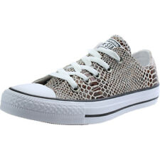 Converse Chuck Taylor All Star Snake Ox Marrón Cuero Trainers