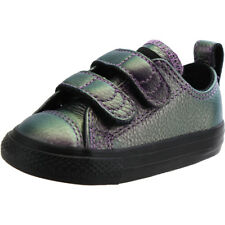 Converse Chuck Taylor All Star 2V Viola In Pelle Bambino Trainers