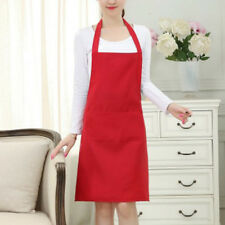 Apron Tow Pocket Chefs Butcher Kitchen Cooking Craft Catering Baking YJ