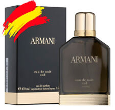 Armani Eau De Nuit Oud Eau de parfum 50/100 ml Natural Spray EDP Fragancia
