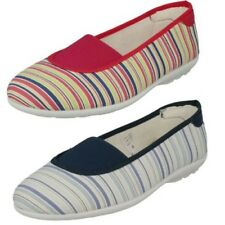 Donna Easy B Scarpe di TELA MOCASSINI ESPADRILLAS - Hilary