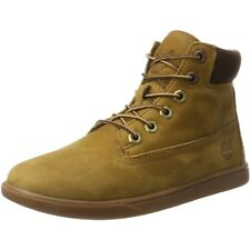 Timberland Groveton 6 Inch Lace Rubber Brown Nubuck Gioventù