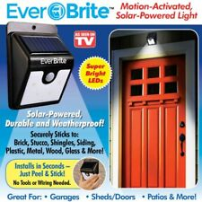Ever Brite LED Outdoor Solar Powered Wireless Motion Activated Light-AS ON TV