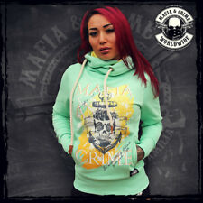 ••• MAFIA & CRIME Ladies Hoodie XS-XXL // Anchor // NEUWARE