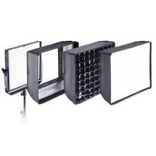 NEW FLASHPOINT 1X1 SOFTBOX SET FOR PANELLIGHT 1300 LED