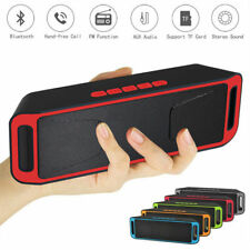 Portable USB Wireless Bluetooth Speaker 4.1 Sound Stereo Subwoofer Support FM TF