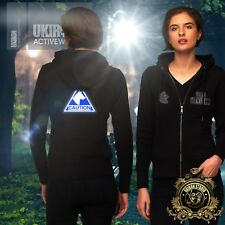 "UKIRON ""DOG HANDLER"" Hoodie Security K9 Unit Zip Up✰reflective✰Zipped Unit Hoody"