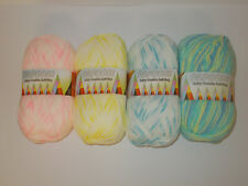 V & A Teddy Papoose Baby Double Knitting Yarn Baby DK Knitting Yarn Variegated