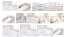 Breathable Baby Mesh Liner Cot Cot Bed Bumper Air Flow Safety  2 or 4 Sided