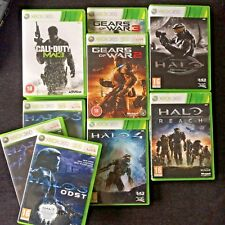 Xbox 360 - Halo (3, ODST, 4, Reach, Anniversary), Call of Duty, Gears of War 2 3