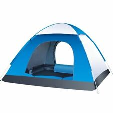 3-4 Person Automatic Folding Tents Family Tents Beach Tent Camping Double Speed