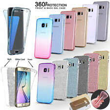 Cover Case UltraThin Slim 360 TPU Gel Skin Pouch For Samsung Galaxy S9 S8+ S7 J3