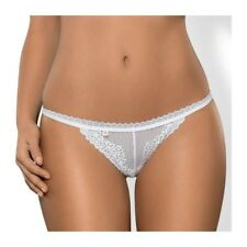 OBSESSIVE ALABASTRA THONG BLANCO XXL