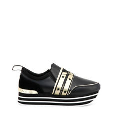 Scarpe Sneakers Donna Versace Jeans VRBSF2_70063_51  black,gold NEW
