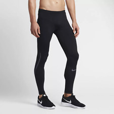 NIKE POWER (CITY) Men's Running Tights Size M S Black