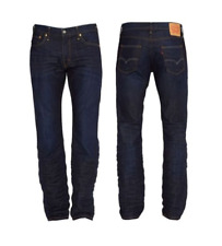 Levis 504 Jeans Men (Genuine) Riveted Regular Straight Fit The Rich Denim