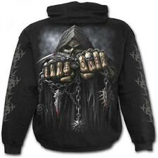 DTO 20% ! Sweat-shirt Enfant SPIRAL Capuche Game Over Rock, Metal, Gothic