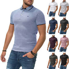 Jack & Jones Herren Poloshirt Kurzarmshirt Business Freizeit Shirt Color Mix NEU