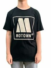 Motown Logo Amplified Unisex Official Tee Shirt Brand New Various Sizes Black
