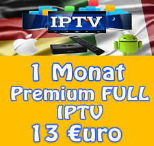 IPTV 1 Monat Smart IPTV +10000 LiveTV - VOD - Internet TV - HD - FHD - SD