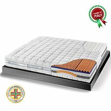 Goldflex Materasso SAFETY CONFORT Memory 5 Strati ALOE NATURE GRANDE SCONTO