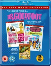 The DR GOLDFOOT (3 FILM) FILM COLLECTION BLU-RAY+DVD NUOVO Blu-Ray (101filmsbo