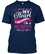 Must-have Grants Administrator - My Heart Belongs To A T-shirt Élégant (S-5XL)