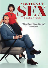 Masters of Sex: Season One (DVD, 2014, 4-Disc Set) BRAND NEW* FREE SHIPPING*