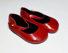 boneka puppenschuhe Mary janes MISURA 90N Red/Red Mary Jane Shoes dimensioni 90N