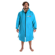 Dryrobe Advance - Long Sleeved - All Weather Changing Robe (Sky Blue/Grey)