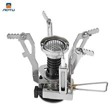 Camping Folding Stove Head Lighter Aluminum Alloy Base