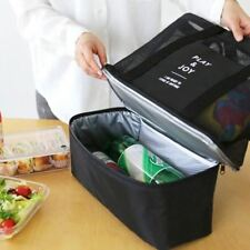 Thermal Lunch Handbag For Women Adults Food Picnic Cooler Insulated Storage Cont