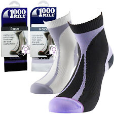1000 Mile Lightweight Tactel Breathable Race Running Training Womens Sport Socks