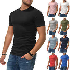 NEU Jack & Jones Herren T-Shirt Basic Shirt Kurzarmshirt Casual Style/Color Mix