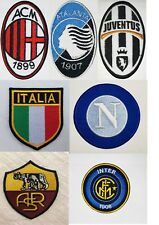 ef6dd7f5157 Italian Football Serie A Italy Clubs Embroidered Iron ON Sew On Patches  badges