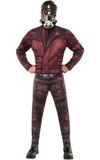 LICENSED DELUXE STARLORD GUARDIANS OF THE GALAXY ADULT MENS STAR-LORD COSTUME
