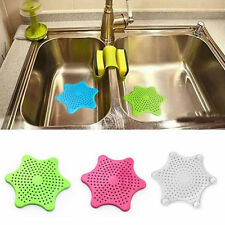 Silicone Sink Strainer  Bath Hair Stopper Shower Rubber Drain Cover Plug Kitchen