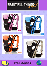 Beth Bear 0-30 Months Breathable Front Facing Baby Carrier 4 in 1 Infant Comf...
