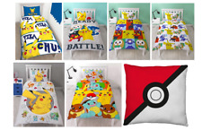 Pokemon Duvet Cover Bedding Sets Single Official New Official Product New