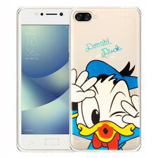 tpu silicona funda protectora de Móvil Cartoon DONALD DUCK para Asus ZenFone 4