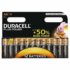 AA BATTERIE  Alcaline, Stilo AA , Confezione da 8,12,18 Duracell Plus Power