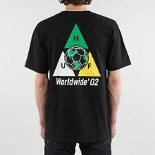 HUF Men's World Cup Takeover Triple Triangle Short Sleeve Cotton T-shirt Black