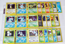 Neo Genesis Pokemon Set 111 Cards - Good Condition - Pick A Card