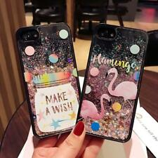 Bling Colorful Stars Dynamic Liquid quicksand Phone Cases For iphone 7 6 6s Plus
