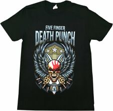 FIVE FINGER DEATH PUNCH wingshield Fall Tour Unisex Oficial Camiseta NUEVO V