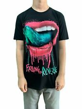 Falling In Reverse Lips UNISEX UFFICIALE T-SHIRT NUOVO VARIE TAGLIE