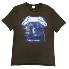METALLICA RIDE THE LIGHTNING Amplified UNISEX UFFICIALE T-SHIRT NUOVO Varie